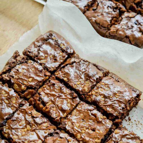 brownie de remolatxa